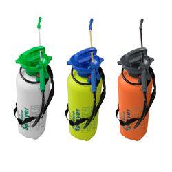 LEX Drucksprüher mit Metallspitze, 8 Liter, 3 verschiedene Farben