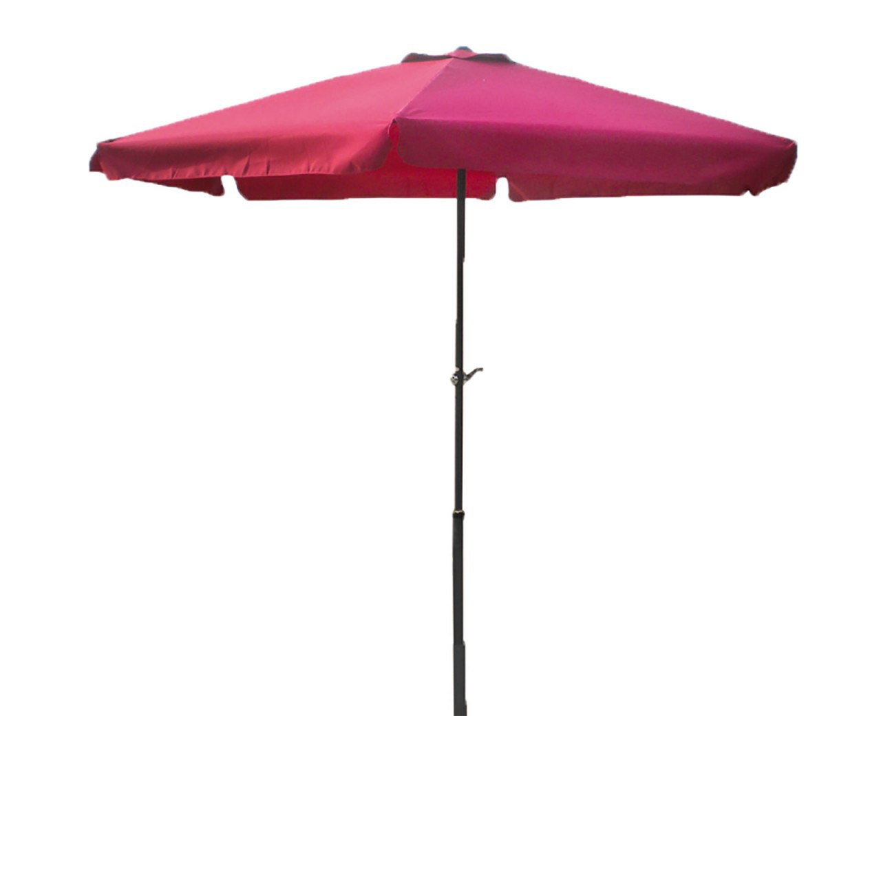 LEX Umbrella Ø 3m with crank in Burgundy