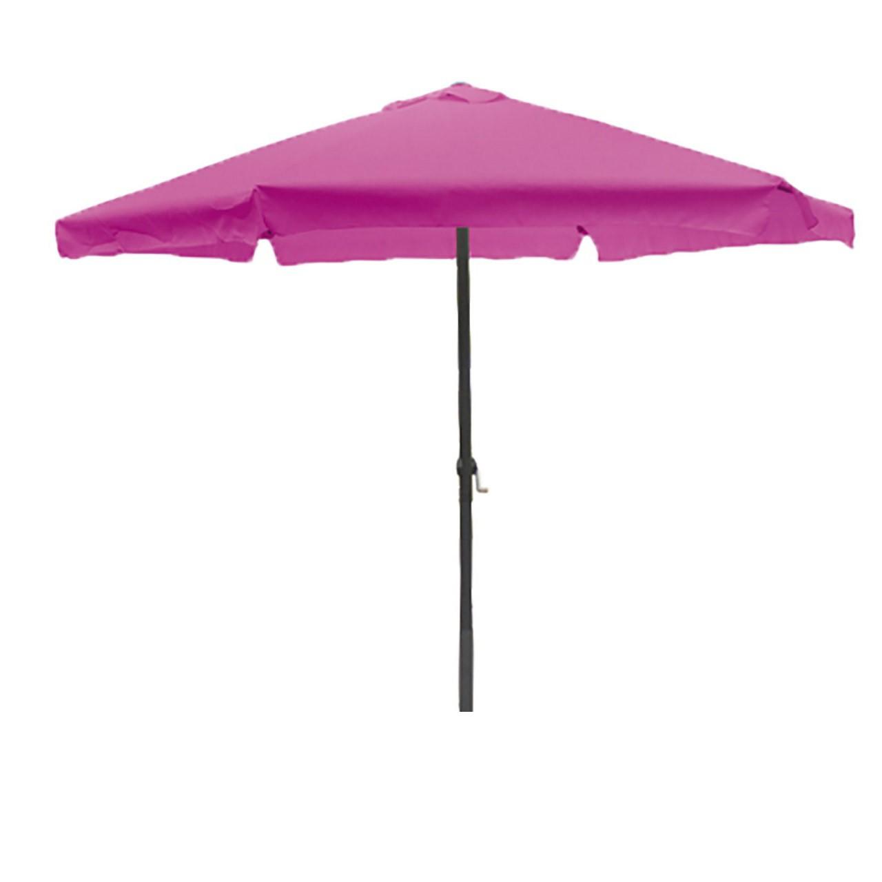 lex parasol 3 m avec manivelle en m re ebay. Black Bedroom Furniture Sets. Home Design Ideas