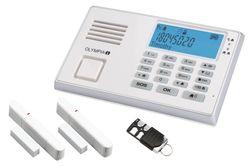 OLYMPIA Protect 9035 GSM mit der Fernbedienung
