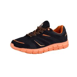 Action Activity Sneaker Laufschuhe Herren Fitness Schuhe Schwarz/Orange