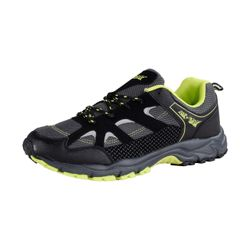 AIR STAR Herren Trail Runningschuh, Schwarz/Lime