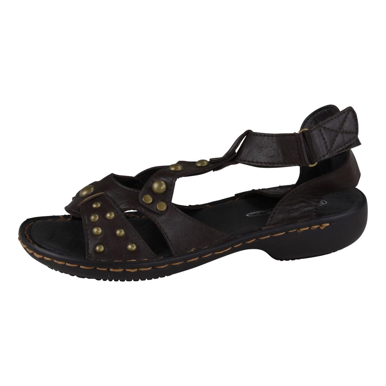 lisanne comfort damen sandale braun. Black Bedroom Furniture Sets. Home Design Ideas