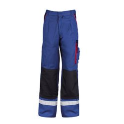 Working Pants in Blue and Beige