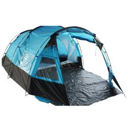 4 persons tent in blue