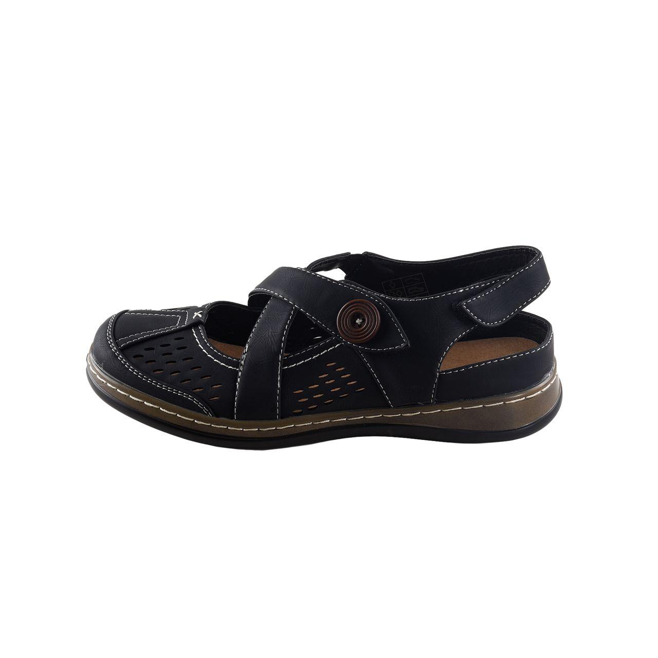 lisanne comfort damen sandalen wei e ziern hte schwarz ebay. Black Bedroom Furniture Sets. Home Design Ideas