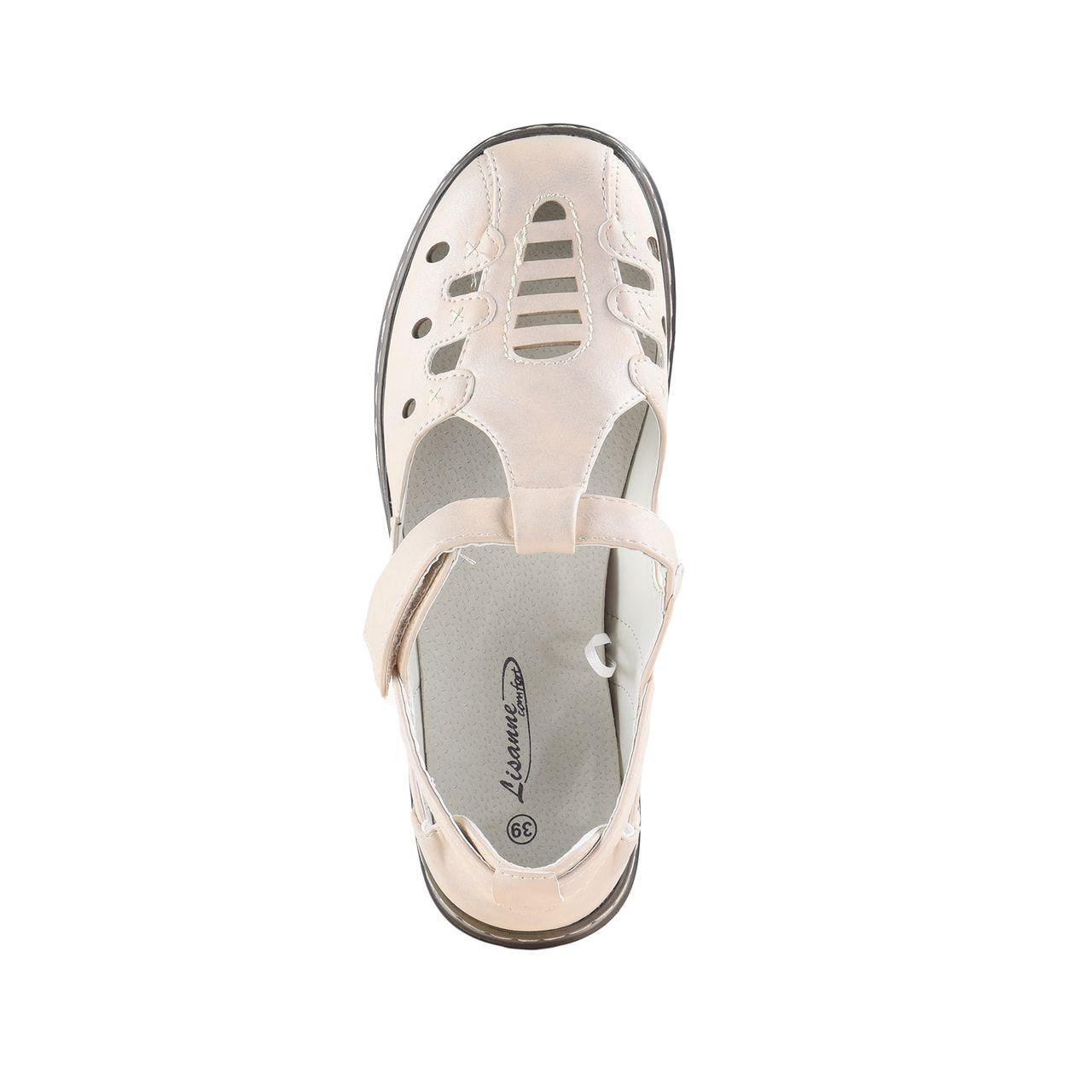 Lisanne Comfort Damen Sandalen Weiß