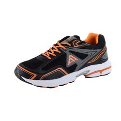 ACTION ACTIVITY Herren Sportschuhe, Schwarz/Orange