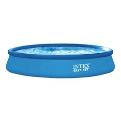 INTEX Easy Set Pool Set, Ø 457 x 84 cm, Blau