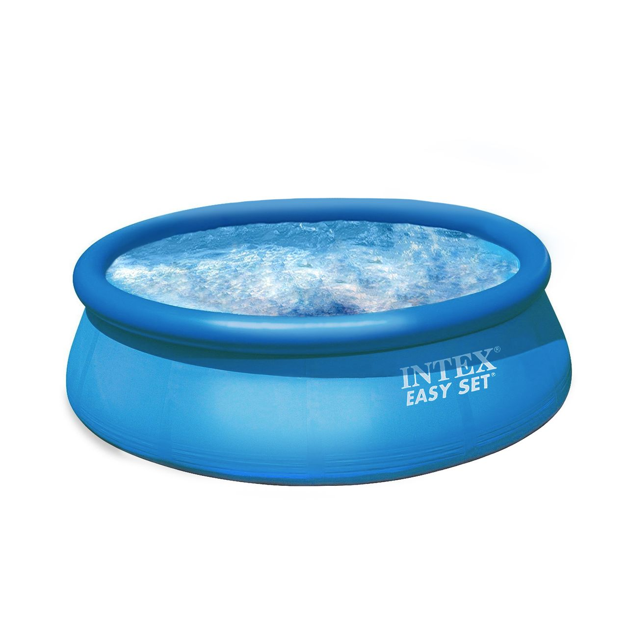 Intex easy set pool set blau 366 x 76 cm mit pumpe ebay for Pool selbstaufstellend