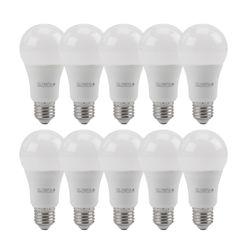 10 Stück OLYMPIA E27 LED  270° 10 W  806 Lumen  EEK A+ (Spektrum: A++ bis E) warmweiß