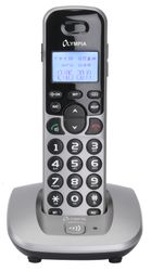 OLYMPIA DECT 5000 Schnurloses ECO-Mode DECT Telefon, Silber