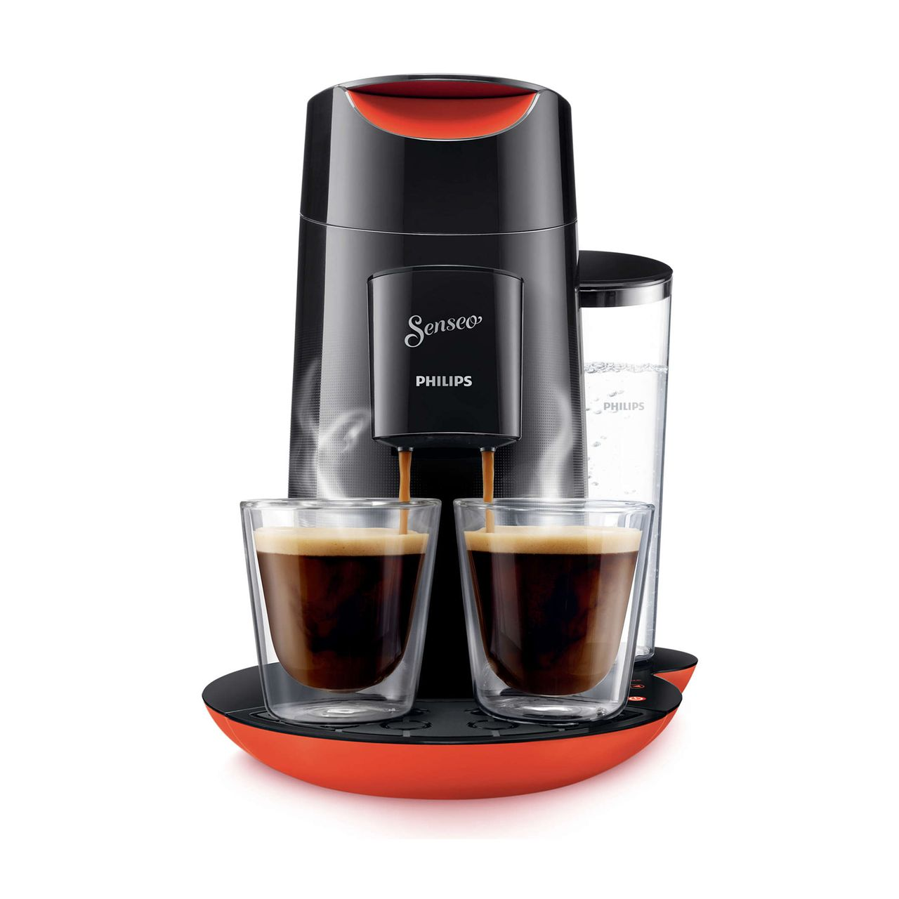 philips hd7870 31 maschine kaffeepadmaschine senseo twist schwarz rot ebay. Black Bedroom Furniture Sets. Home Design Ideas