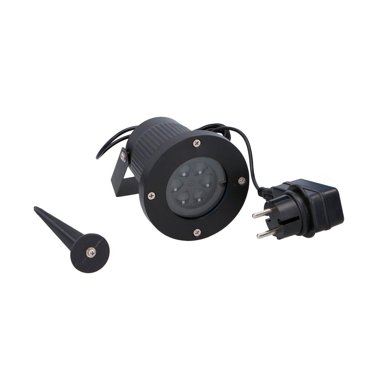 STAR-BRIGHT Wetterfester IP65 LED-Projektor Schneeflocken