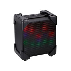 SOUNDLOGIC Light Up Bluetooth LED Lautsprecher mit Mikrofon