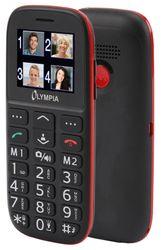 OLYMPIA Bella Senioren Mobiltelefon, große Tasten, Bluetooth, Ladestation