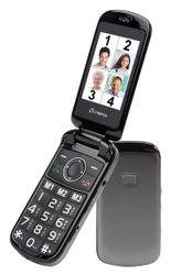 OLYMPIA Brava Plus Klapp Senioren Mobiltelefon, große Tasten, Farbdisplay Ladestation