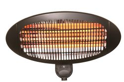 H+H BS 45 Wall radiant heater 3 switching steps 2000 watts