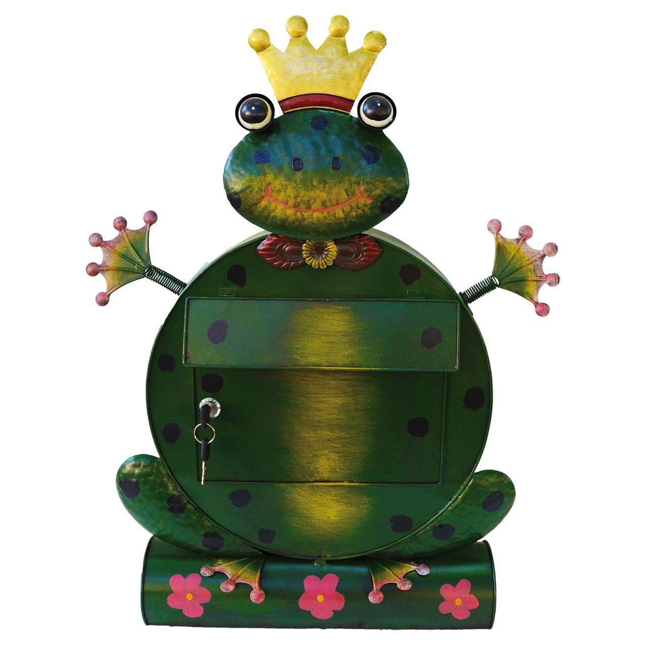 briefkasten frosch freddy mit zeitungsrolle. Black Bedroom Furniture Sets. Home Design Ideas