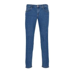 GIN TONIC Damen Skinny Fit Jeans Light Blue Wash
