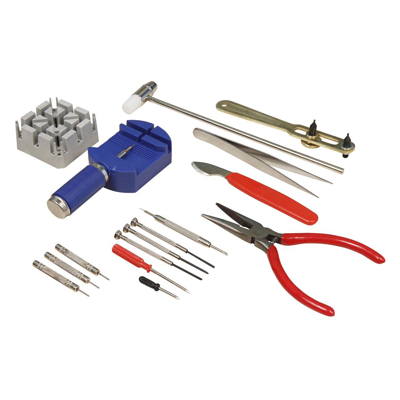 MCPOWER Uhrenwerkzeug-Set, 16-teilig