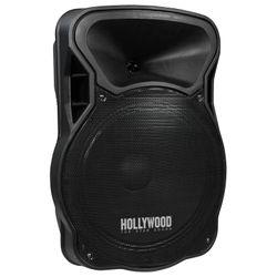 "HOLLYWOOD mobile Beschallungsanlage 700 W max., 15"" Woofer SD/USB, Bluetooth, Funkmikrofon"
