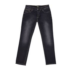UNCLE SAM Herren Jeans Regular-fit-Jeans Anthrazit Washed