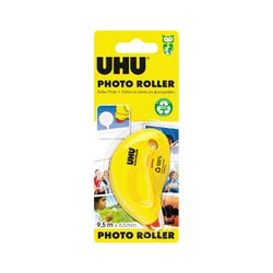 UHU Photo Roller, Permanent Kleberoller, 6,5 mm x 9,5 m