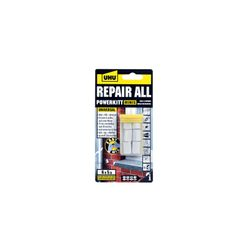 UHU Repair All Powerkitt Minis, Steinharte Zweikomponenten-Epoxidharz Knetmasse, 6 x 5 g