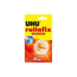 UHU rollafix, Nachfüllrolle, transparent, 25 m x 19 mm