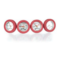 JIM BEAM Mini Thermometer Set, 4 teilig