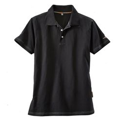 TERRATREND Job Revolution Polo Shirt, Schwarz/Grau