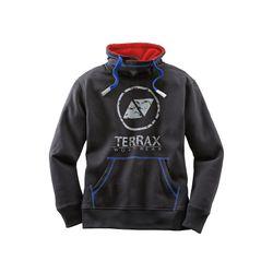 TERRAX WORKWEAR Herren Sweatshirt, Schwarz/Royal