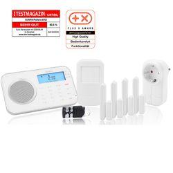 Olympia Pro Home 8762 Funk Haus Alarmanlage mit WLAN/GSM und Smart Home Funktionen
