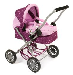 CHIC Smarty Mini Kuschelwagen, Dots Brombeere