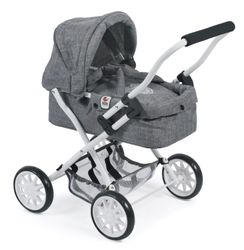 CHIC Smarty Mini Kuschelwagen, Jeans Grey