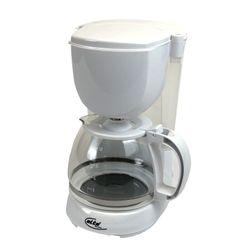ELTA KM-1000.2 wß Kaffeemaschine mit Permanentfilter, 1,25 l, 750 W, Weiss