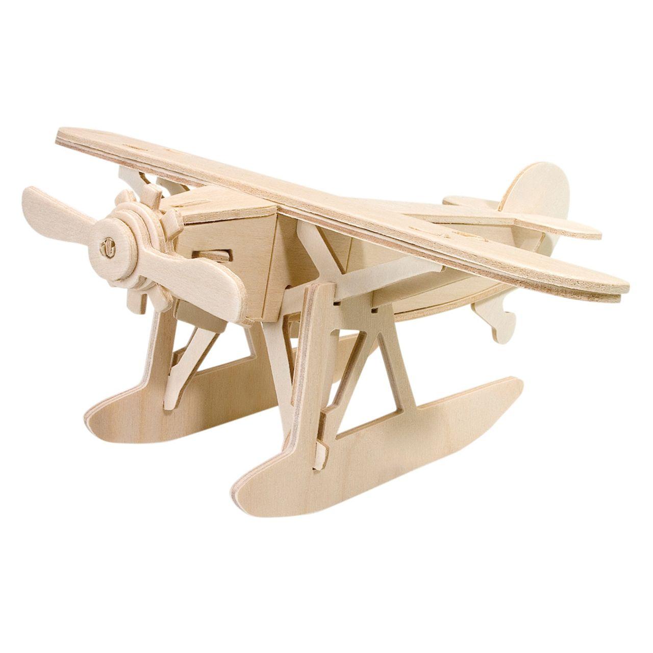 PEBRAO Holzbausatz Wasserflugzeug