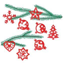 Pebaro Élément de Construction Décorations D'Arbre 2, Weihnachtssymbole