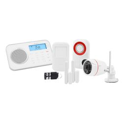 OLYMPIA ProHome 8791 Funk-Alarmanlagen System mit WLAN/GSM und Smart Home Funktionen