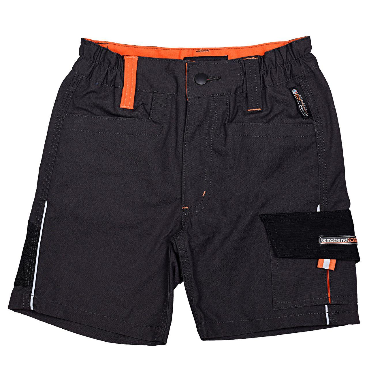 TERRATREND JOB Revolution Kinder-Shorts, Dunkelgrau