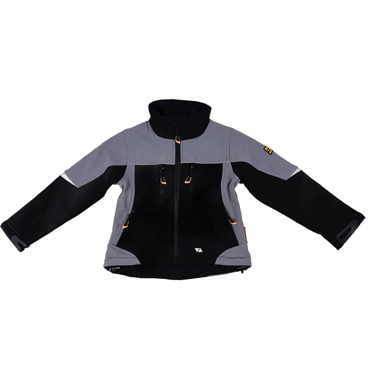 TERRATREND JOB Revolution Kinder-Softshelljacke, Schwarz, Grau