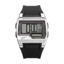 ALL BLACKS  Herren Armbanduhr Digital, Kunststoffband, Schwarz
