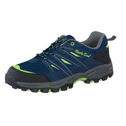 UNCLE SAM Herren Outdoorschuhe, Navy/ Lime