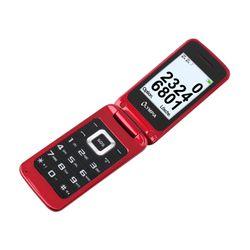 OLYMPIA Luna Les personnes âgées téléphone mobile, rouge