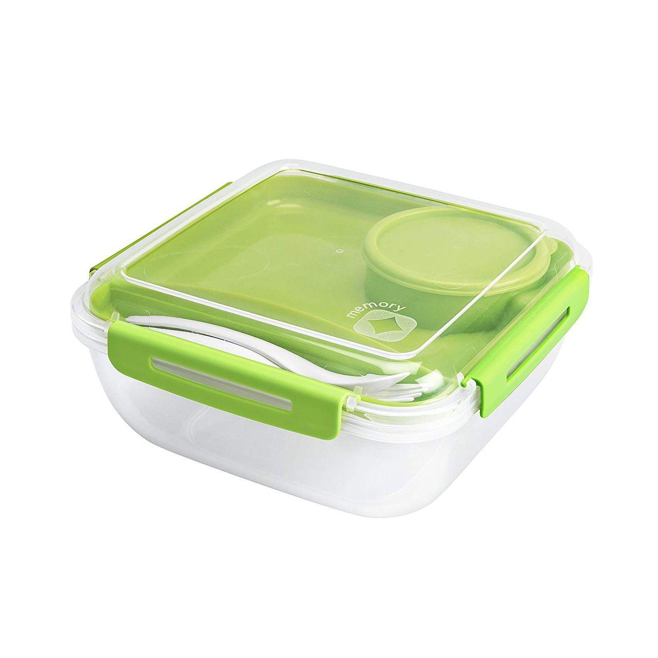 1,7 l Memory B3 Lunchbox Salatbox Frischhaltedose mit Besteck