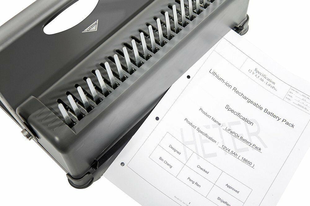 GENIE CB800 Bindegerät Bindemaschine Spiralbindegerät Stanzgerät Binder A4 Buch