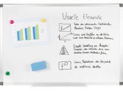 GENIE Whiteboard XXL A1 Magnettafel Memoboard Flipchart Wandtafel Schreibtafel