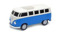 Autodrive VW Bus T1 Bulli Bluetooth Lautsprecher USB MP3 Radio Modell Box