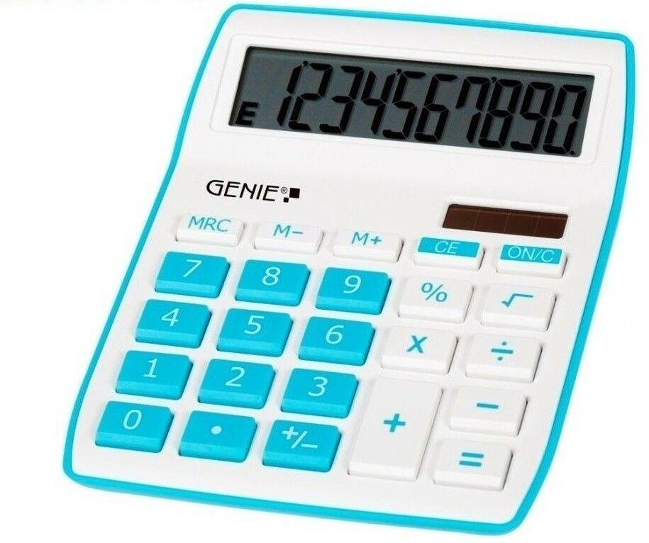 Genie 840b solar tischrechner rechenmaschine rechner for Design tisch taschenrechner